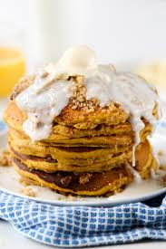 Pumpkin Pancakes W Bisquick by Pumpkin Streusel Pancakes Confessions Of A Cookbook Queen