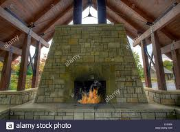 Outdoor Garden Backyard Stone Fireplace In Public Park Stock Photo ... Backyard Fireplace Plans Design Decorating Gallery In Home Ideas With Pools And Bbq Bar Fire Pit Table Backyard Designs Outdoor Sizzling Style How To Decorate A Stylish Outdoor Hangout With The Perfect Place For A Portable Fire Pit Exterior Appealing Stone Designs Landscape Patio Crafts Pits Best Project Page Of Pinterest Appliances Cozy Kitchen Beautiful Pits Design Awesome Simple Diy Fireplaces To Pvblikcom Decor
