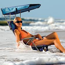 Rio Hi Boy Beach Chair With Canopy by Best Beach Chair With Canopy Sadgururocks Com