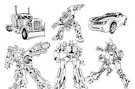 Image Of Transformers Coloring Pages Printable
