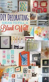 20 DIY Decorating Ideas For A Blank Wall
