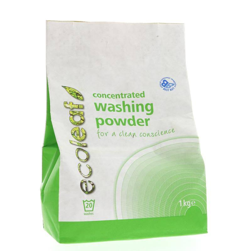 Ecoleaf Concentrated Washing Powder (1kg)