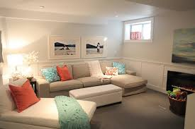 apartments awesome small basement living room ideas with white