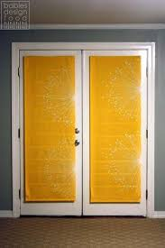 French Door Treatments Ideas by Best 25 French Door Curtains Ideas On Pinterest Curtain For