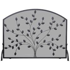 Found it at Wayfair 1 Panel Wrought Iron Fireplace Screen
