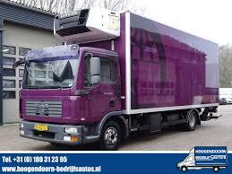 Sunkvežiminių šaldytuvų MAN 12.240 4X2 Carrier Bi-temp - NL Truck ...