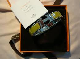 hermes h clic clac cheap almost brand new hermes h clic clac bracelets up for grabs