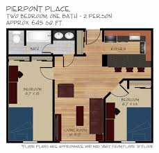 1 Bedroom Apartments Morgantown Wv by 2 Bed 1 Bath Apartment In Morgantown Wv Pierpont Place