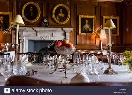 Georgian Dining Room by Somerset England August 8th 2013 A Georgian Dining Room Table