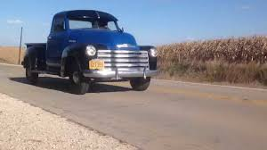 100 1947 Chevy Truck Pick Up Truck Solid Classic Original Running And Driving