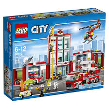 LEGO City Fire Station | 60110 | Toys R Us Canada