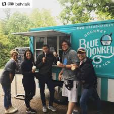 100 Food Truck Tv Show When U Host A Tv Show About Food U Know Blue Monkey Shaved Ice