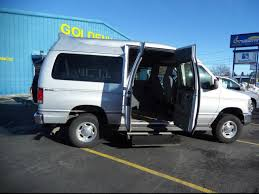 2014 FORD E 250 Non Branded Wheelchair Lift Tiedowns Van For Sale