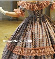 CUSTOM MADE 4 Pieces 1800s Tartan Victorian Bridal Civil War Steampunk Plaid Ball Gown Dress Theater Holiday Costume In Dresses From Womens Clothing