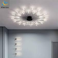 nordic luxuriöse minimal led decke licht spirale feuerwerk designer decke len wohnzimmer wohnkultur schlafzimmer löwenzahn le