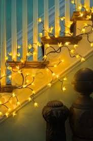 Forsythia Electric Lighted Garland
