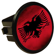 100 Truck Hitch Covers Albanian Flag Round Cover Sunshine Design Online
