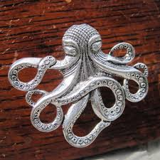 Nautical Drawer Pulls Uk by Octopus Drawer Knobs Cabinet Knobs Furniture Knobs In