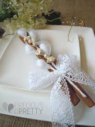 Rustic Wedding Favors Vintage Style With Cinnamon Sticks Minimum Order 20 Pieces