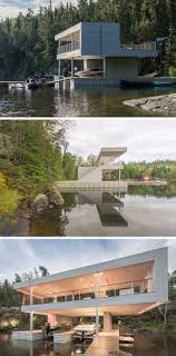 100 Lake Boat House Designs Cibinel Architecture Have Designed A Modern Boathouse For