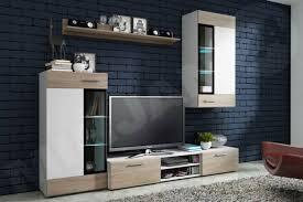 elegante wohnwand schrankwand anbauwand wohnzimmer