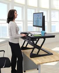 Ergotron Sit Stand Desk by Ergotron Workfit S Dual Monitor Sit Stand With Worksurface