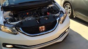 2012 2015 honda civic headlight bulb replacement