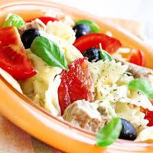 recette salade de pâtes au thon surimi jambon et mozzarella