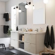 enhet tvällen badezimmer set 15 tlg betonmuster weiß pilkån mischbatterie 164x43x65 cm