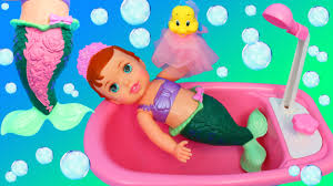 Disney Little Mermaid Bathroom Accessories by Ariel Color Changing Mermaid Doll Bubble Bath Time Secret Reveal
