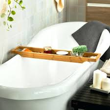 Bamboo Bathtub Caddy Canada by Bath Caddy Chrome Australia Bathtub For Clawfoot Tub Bamboo Amazon