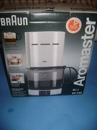 BRAUN Aromaster 10 Cup Coffee Maker KF 440 NEW IN BOX White 4085 Braun