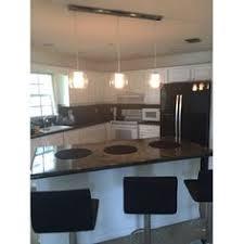 westmore lighting cutter 51 in w 3 light satin nickel kitchen