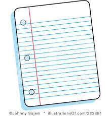 Free Clipart Notebook Paper Alleghany Trees