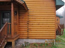 Log Home Restoration Blog Intensified Wood Restoration
