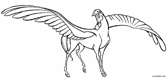 Pegasus Coloring Pages To Print