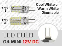 12v g4 mini 2w dimmable led bulb led montreal