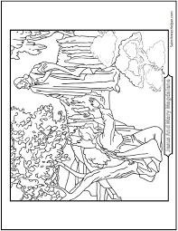 Beautiful Saint Mary Magdalen Coloring Page For Easter Sunday She Saw Him Before The Apostles