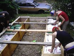 building plywood pontoons and longtail boat engines out of scrap