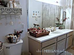Guest Half Bathroom Decorating Ideas by Guest Bathroom Christmas Decor What Meegan Makes