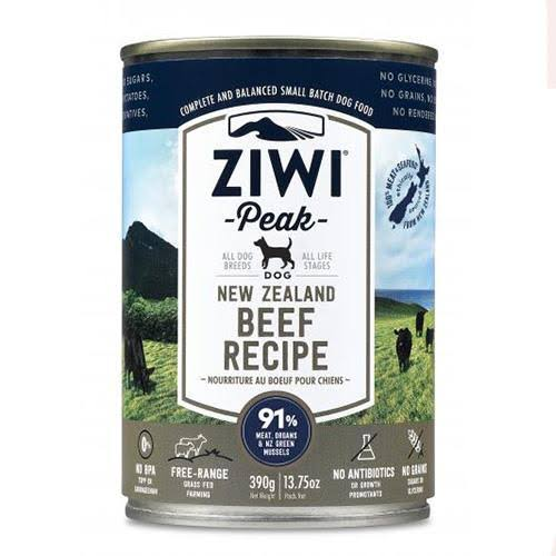 ZiwiPeak Dog Food - New Zealand Beef Recipe