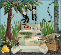 What I Like Here Is The Stuffed Monkeys Attached To Wall Btw Dont Want Any Elephants In House And A Big Fan Of All Other Jungle Critters
