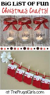 BIG List Of Fun And Easy Christmas Crafts At TheFrugalGirls