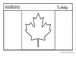 Canada Flag Coloring Page Printable Of Pages