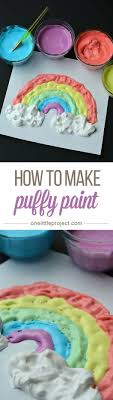 How To Make Puffy Paint CONTINUE Easy Arts And CraftsCrafts For GirlsSummer