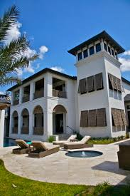 British West Indies Architecture By Brucemwerner See More Marvin Windows Custom Home Exterior Tower 1333x2000