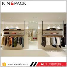 Retail Clothing Store Display Showcase Ideas Design For Garment Shop