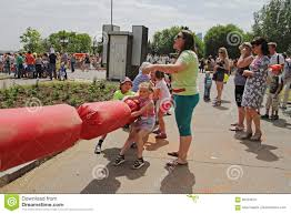 Children Playing Tug Of War On Children Protection Day In Volgograd ...