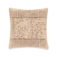 Downton AbbeyR Kitchen Inventory Square Throw Pillow