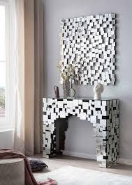 salesfever wandspiegel mosaikdesign aus spiegelglasquadraten